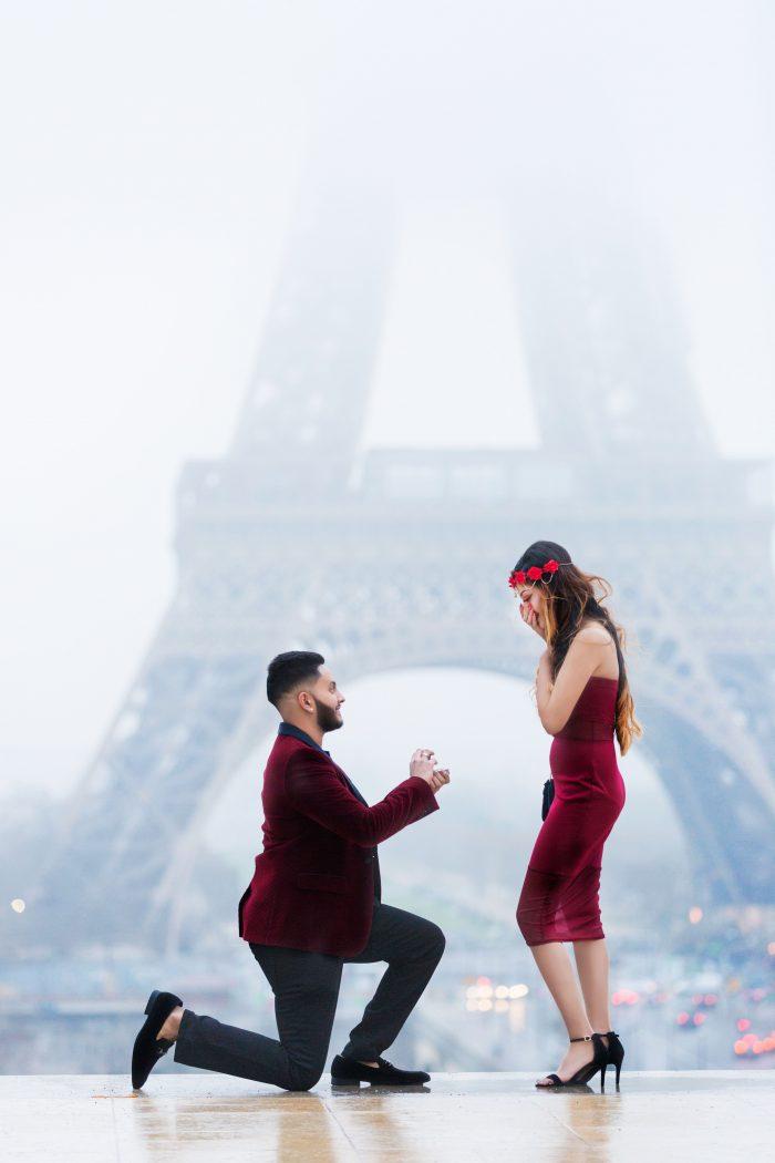 Rakesh's Proposal in Paris