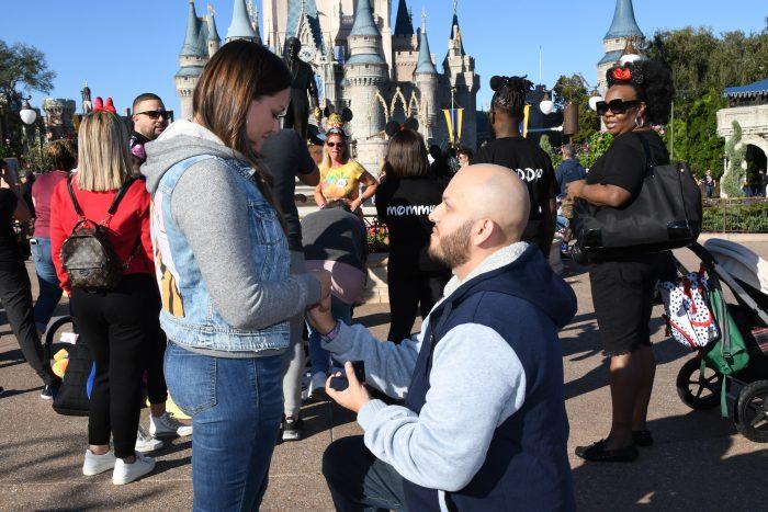 Engagement Proposal Ideas in Walt Disney World - Magic Kingdom
