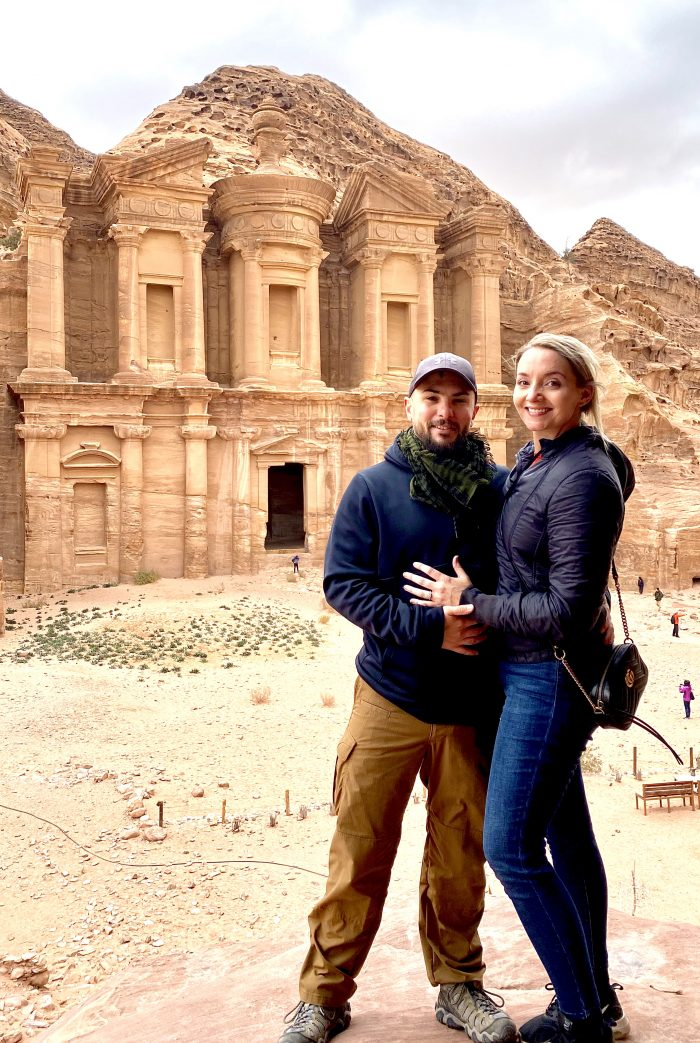 Wedding Proposal Ideas in Petra, Jordan
