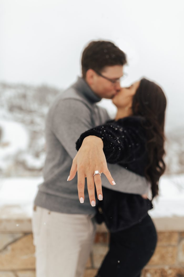 Courtney and Carder's Engagement in The St.Regis Hotel- Park City, Utah