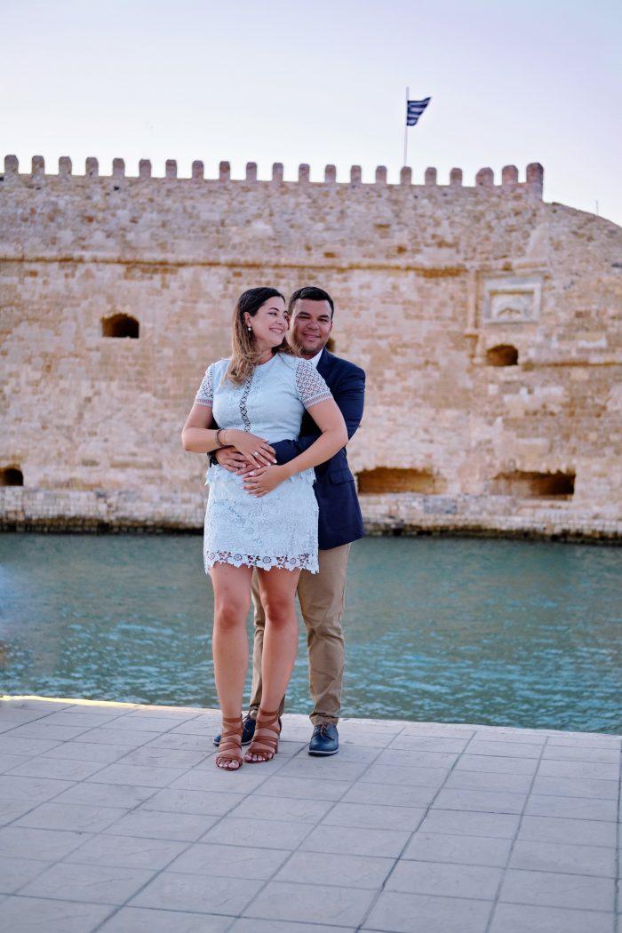 Kally's Proposal in Crete, Greece
