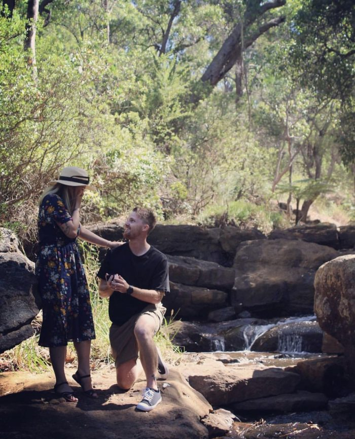 Marriage Proposal Ideas in Araluen Botanic Park