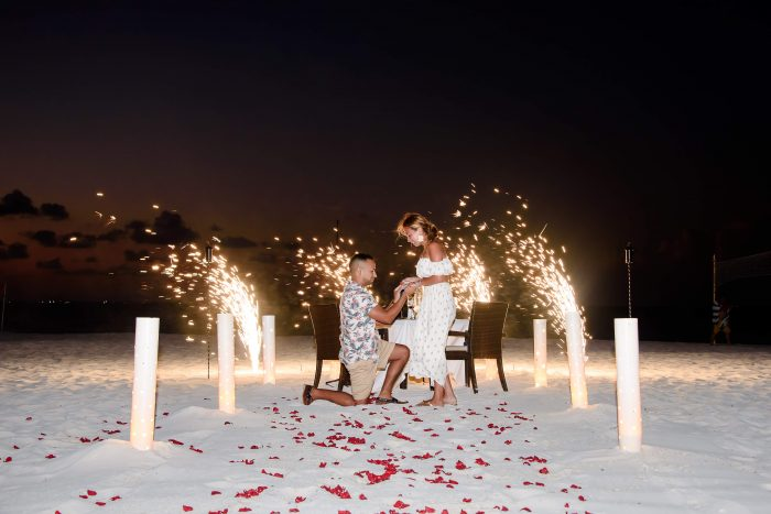 Where to Propose in Cancun Mexico
