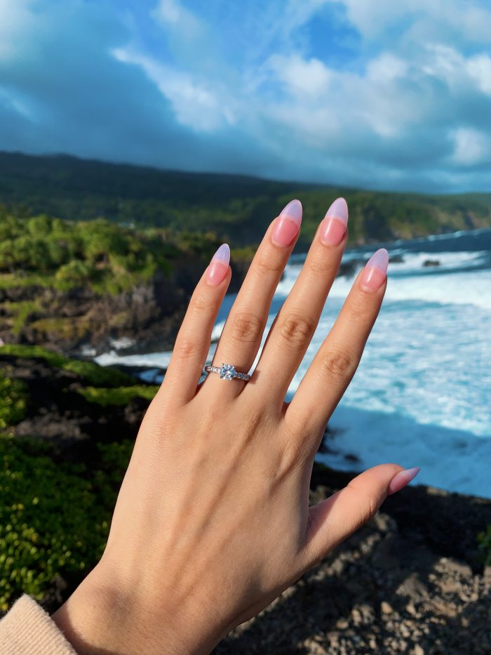 Guadalupe and Paul's Engagement in Seven Sacred Pools in Maui, Hawaii