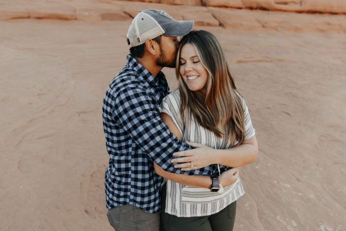 Kelsey's Proposal in Arches National Park