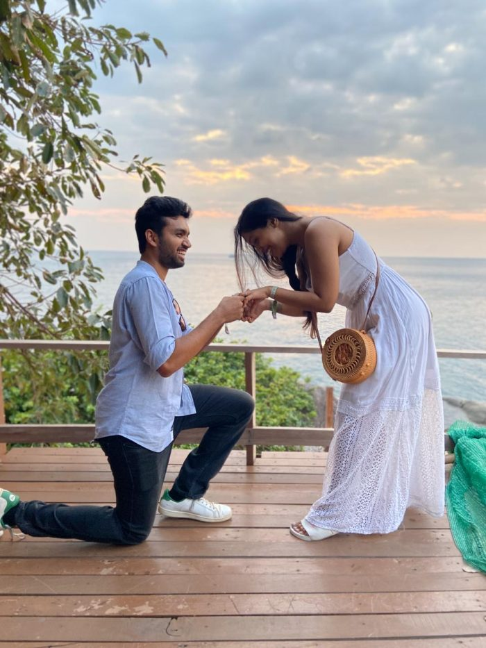 Rachelle and Rudra's Engagement in Koh Tao, Thailand