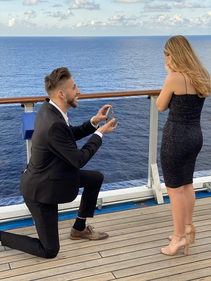 Where to Propose in On Cruise Ship