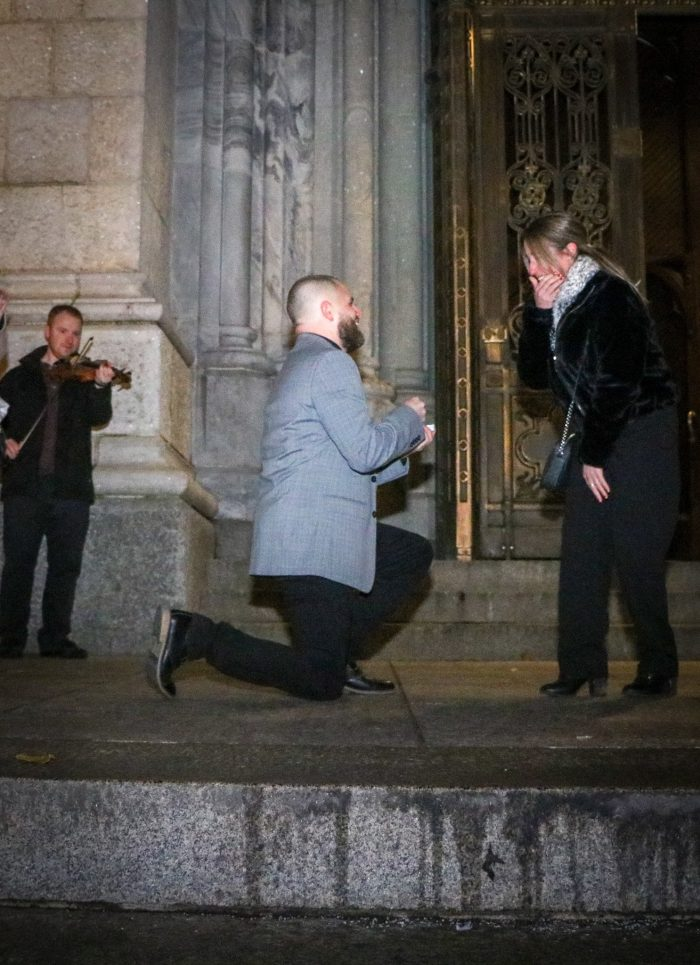 Shannon's Proposal in St patricks cathedral