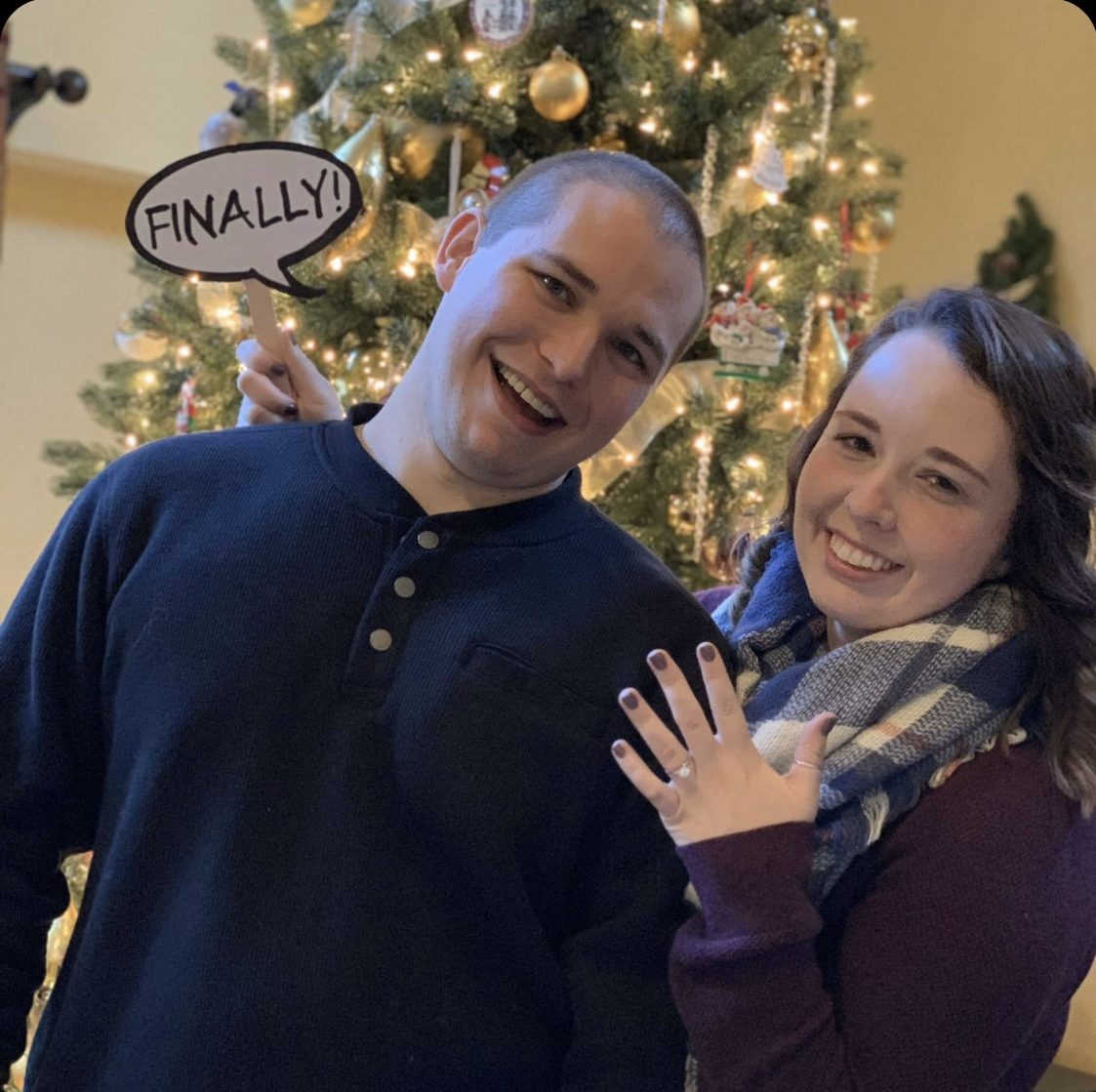 Proposal Ideas At my family Christmas party