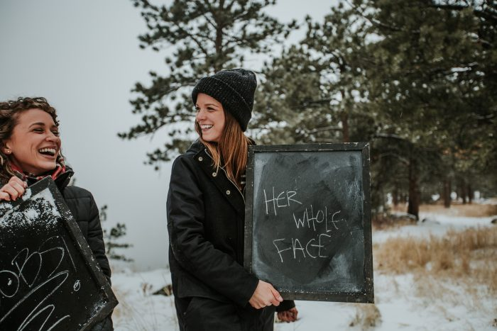 Brittany's Proposal in In the mountains in Boulder, Colorado