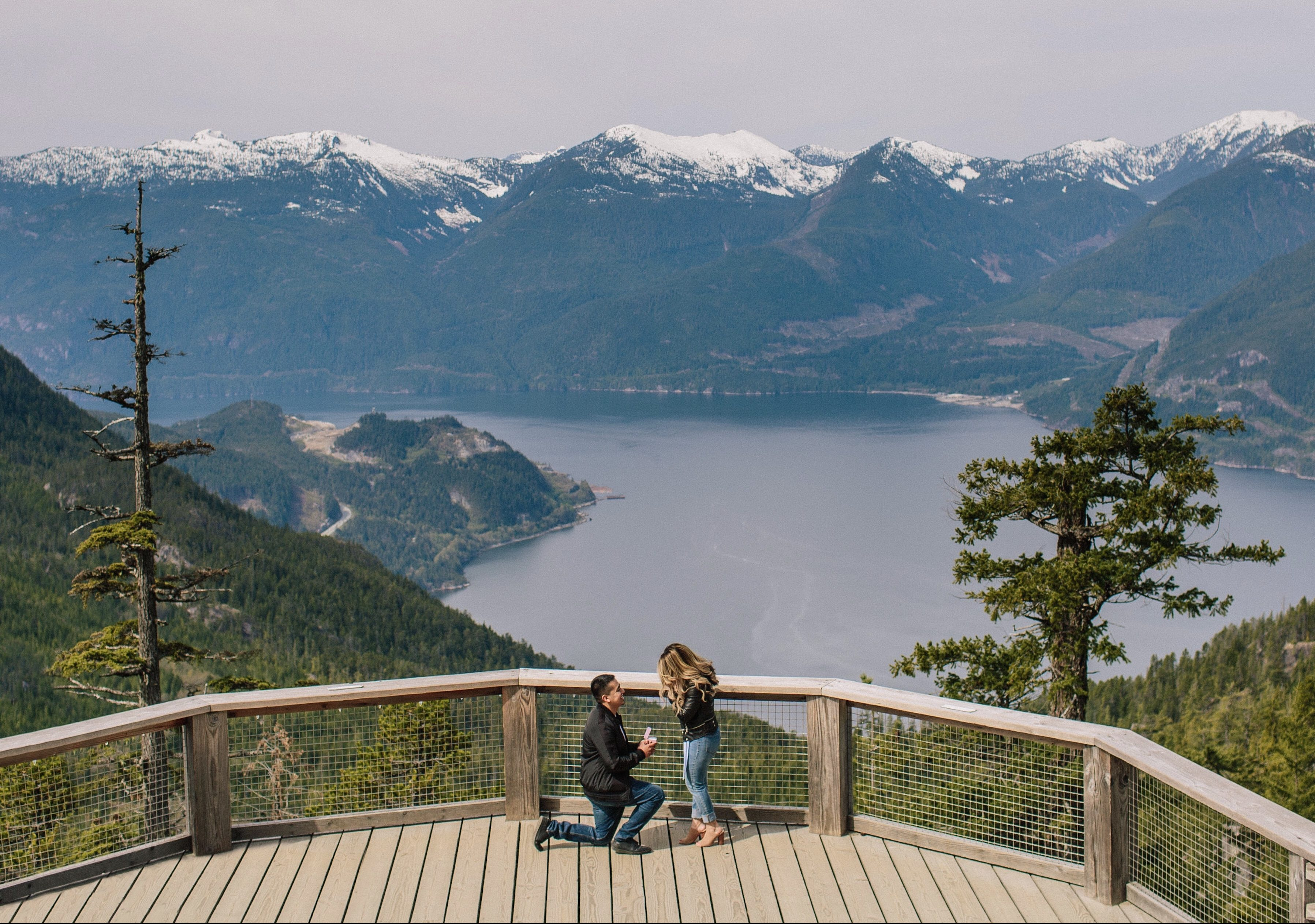 Where to Propose in Sea To Sky Gondola, Squamish, BC