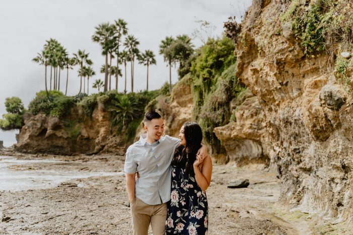 Where to Propose in Shaws Cove in Laguna Beach