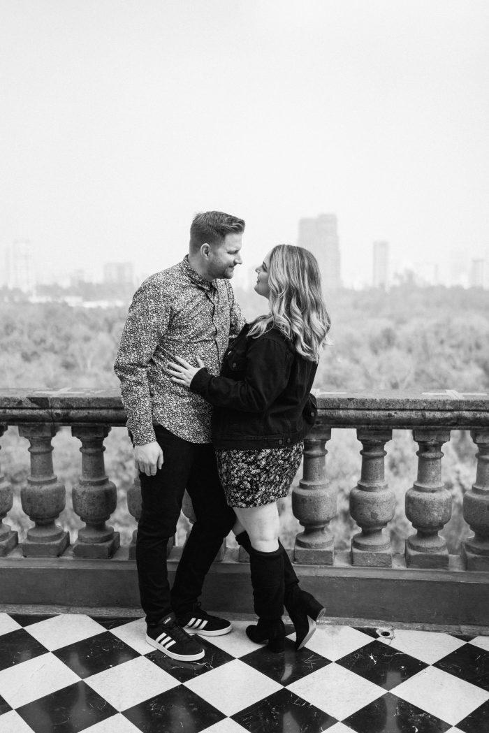 Joe and Maggie's Engagement in Castillo de Chapultepec, Mexico City, Mexico