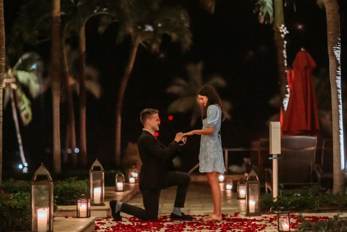 Where to Propose in Maui Four Seasons Hotel