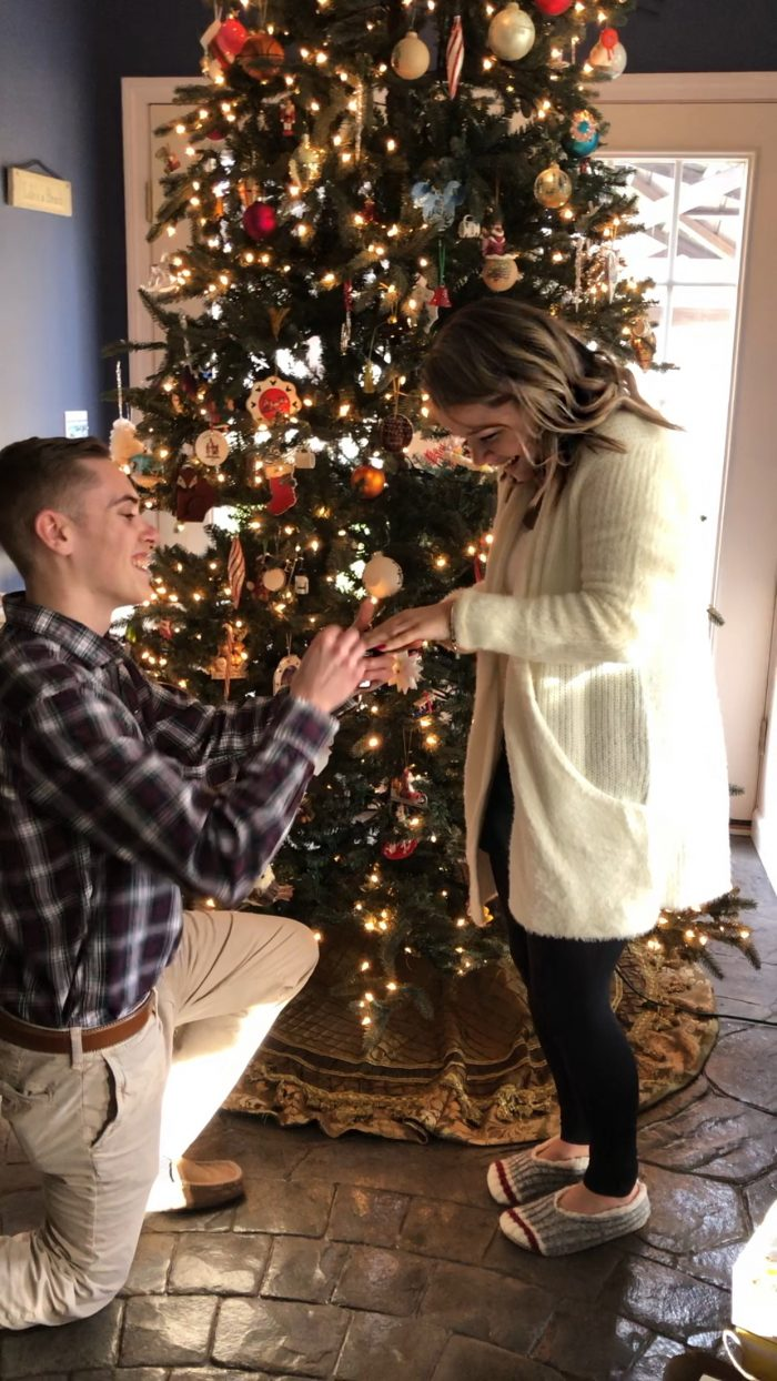 Where to Propose in In the family room surrounded by our closest family members on Christmas morning.