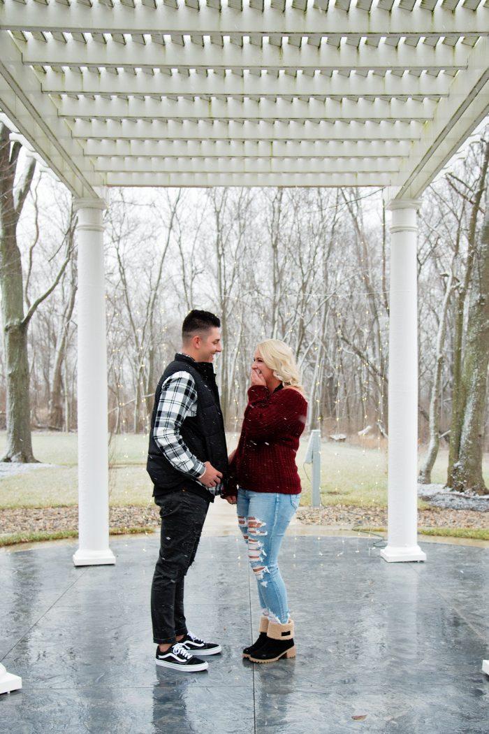 Wedding Proposal Ideas in Lauer Historical Farm- Lima, Ohio