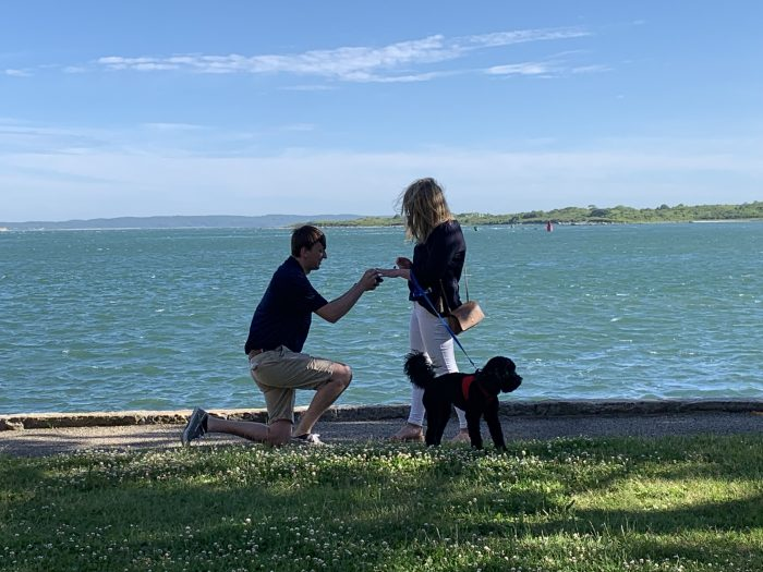 Kathryn's Proposal in Woods Hole, MA
