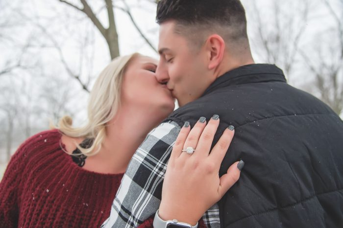 Morgan and Tanner's Engagement in Lauer Historical Farm- Lima, Ohio