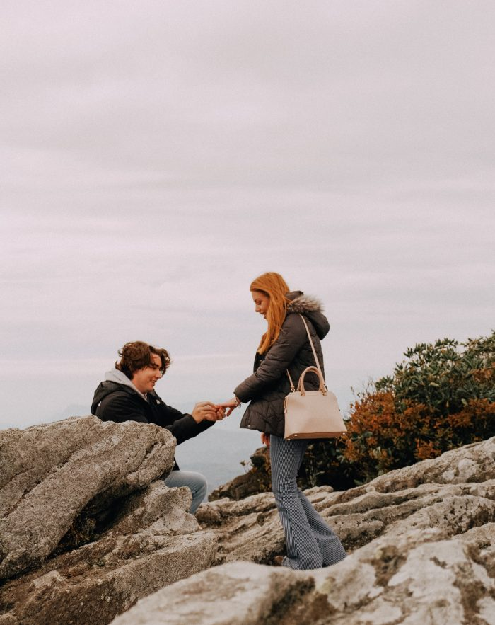 Marriage Proposal Ideas in GrandFather Mountain, NC