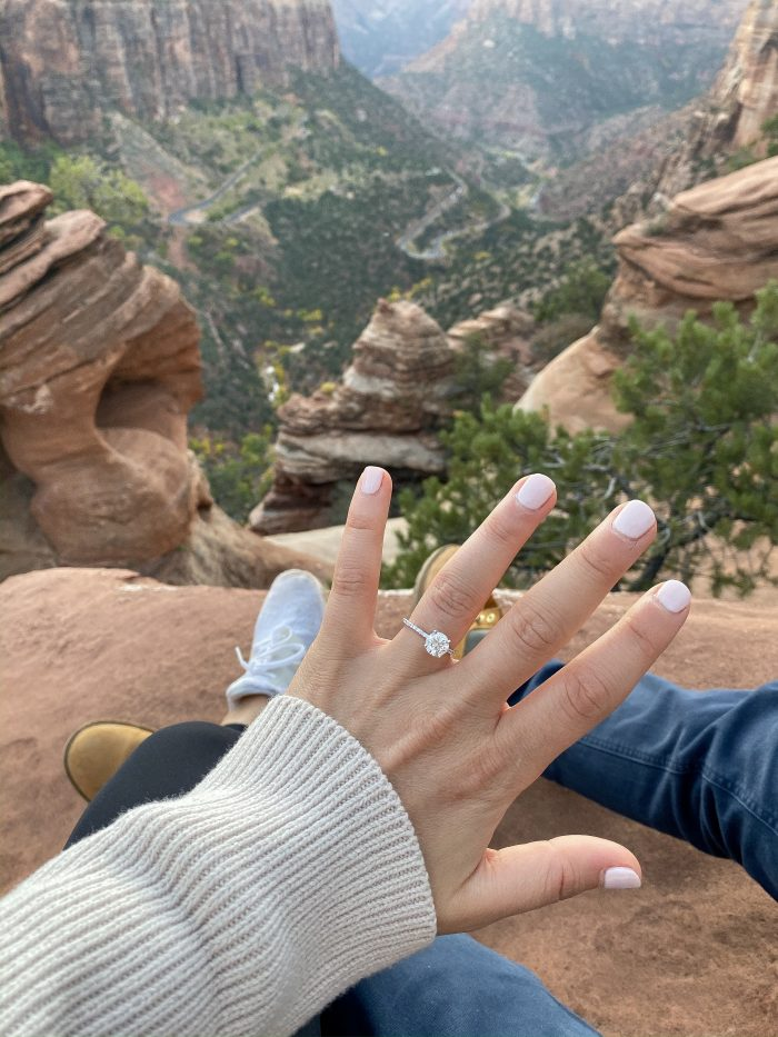 Wedding Proposal Ideas in Zion National Park, Utah