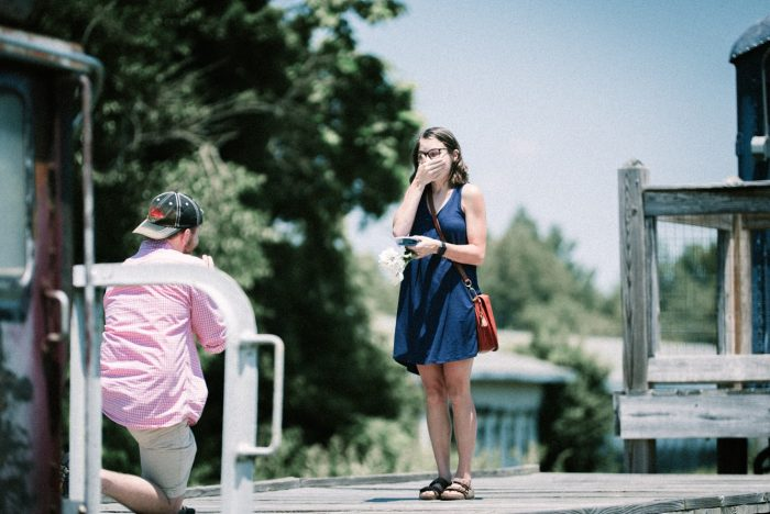 Marriage Proposal Ideas in The Bride's Hometown, Oldham County Kentucky