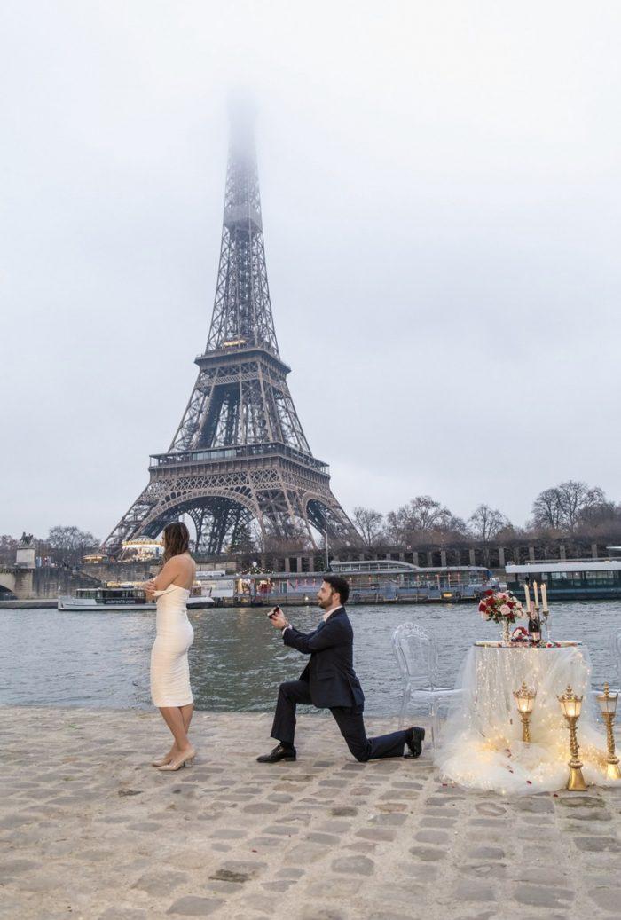 Casey and Matt's Engagement in Paris, France