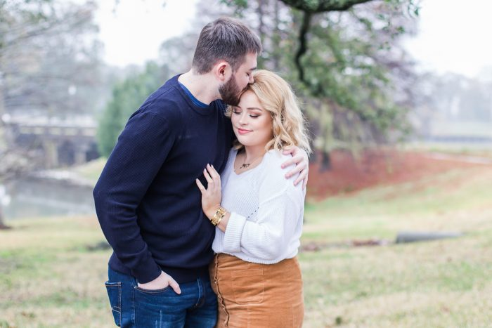 Madison and Elias's Engagement in Baton Rogue, LA