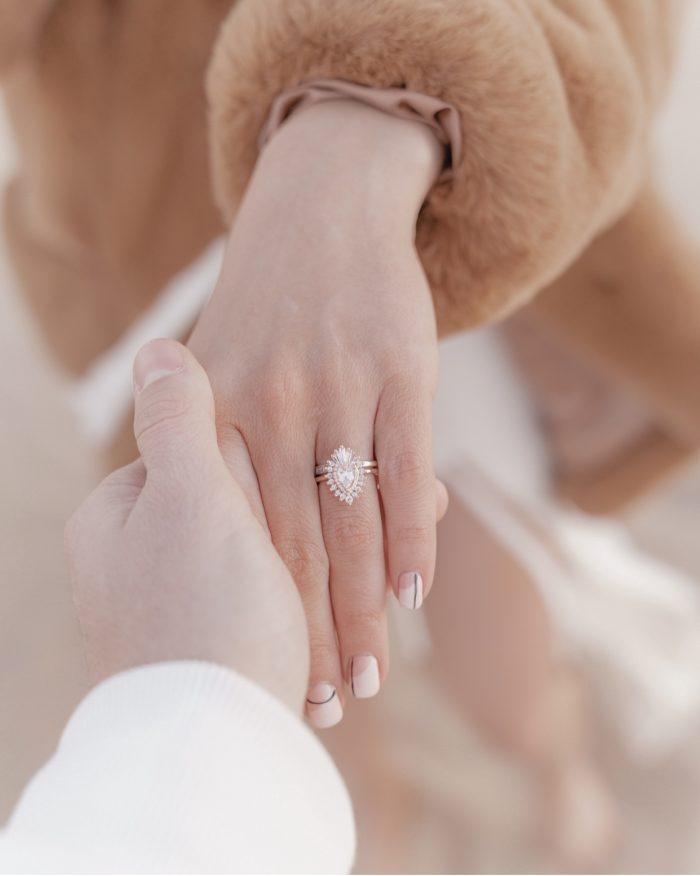 Eva Catherine's Proposal in Glamis, California