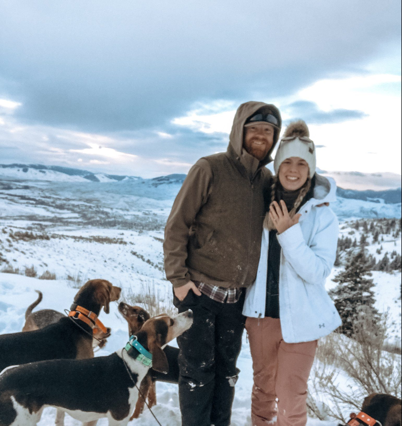 Austen and Chase's Engagement in Salmon, ID