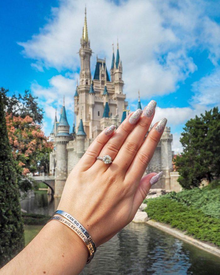 Jordan's Proposal in The Grand Floridian, Walt Disney World