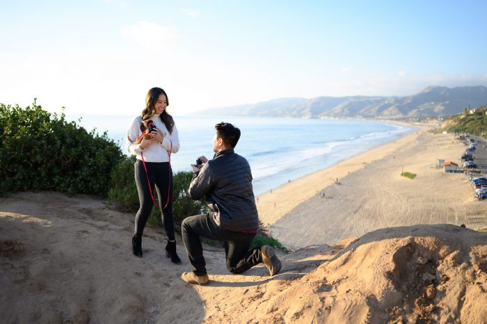 Where to Propose in Point Dume, Malibu, CA