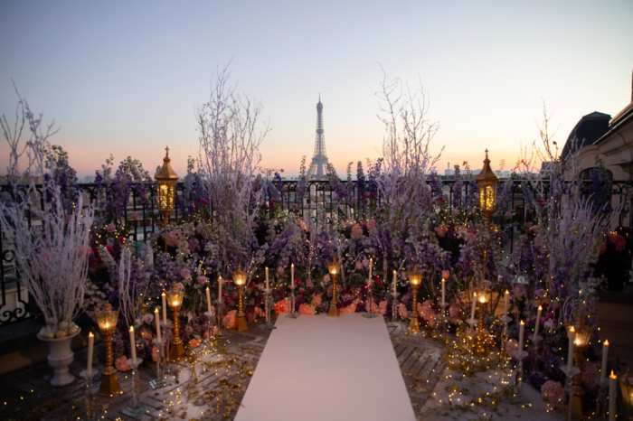 Valerie's Proposal in Paris, France
