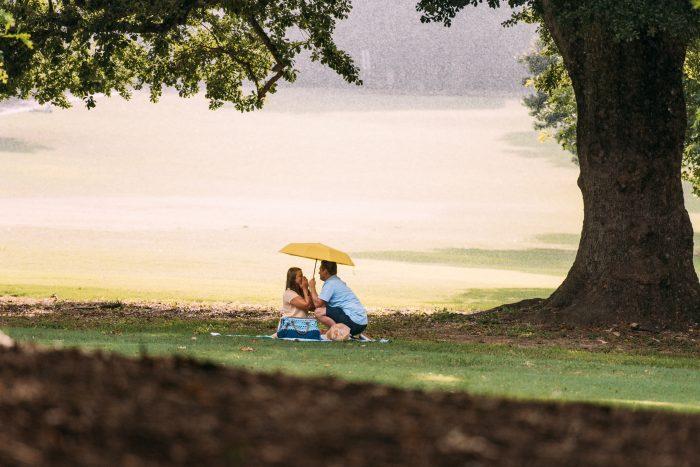 Where to Propose in Piedmont Park, Atlanta, GA
