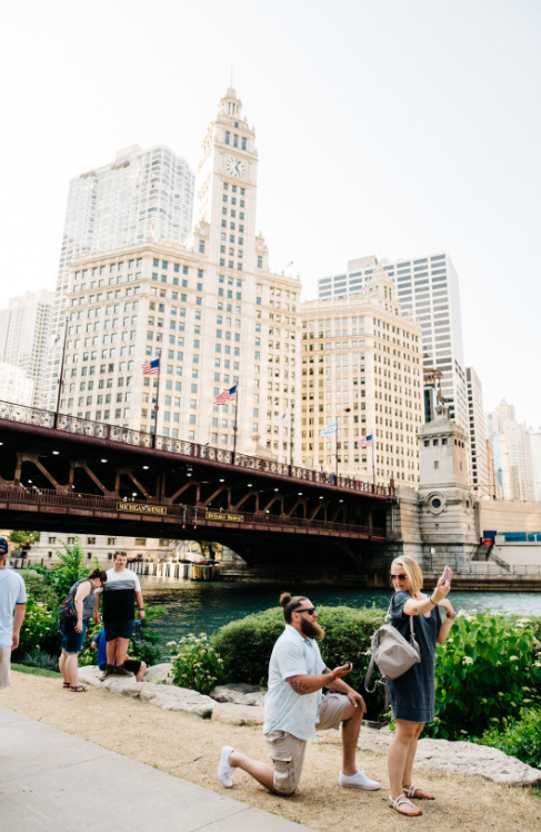 Nicole's Proposal in Chicago, IL