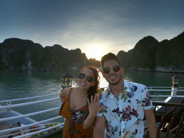Engagement Proposal Ideas in Ha Long Bay, Vietnam