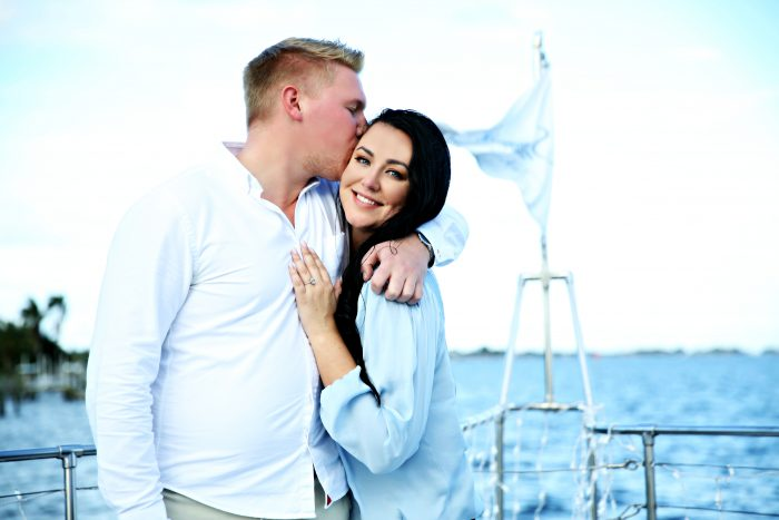 Where to Propose in On a yacht in St. Petersburg Florida
