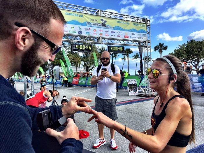 Proposal Ideas Finish line of the A1A marathon in Fort Lauderdale, FL