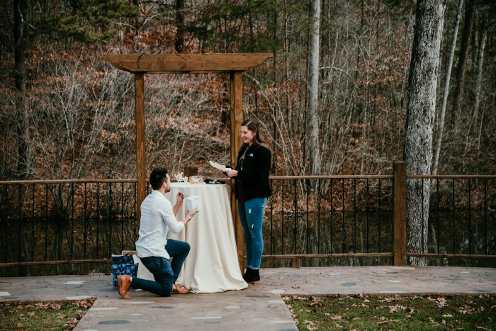 Wedding Proposal Ideas in Chateau Vie, Walnut Cove, NC