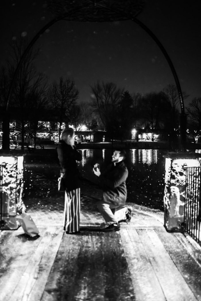 Marriage Proposal Ideas in Gervasi Vineyard in Canton OH