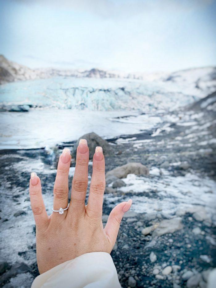 Proposal Ideas sólheimajökull Glacier in Iceland