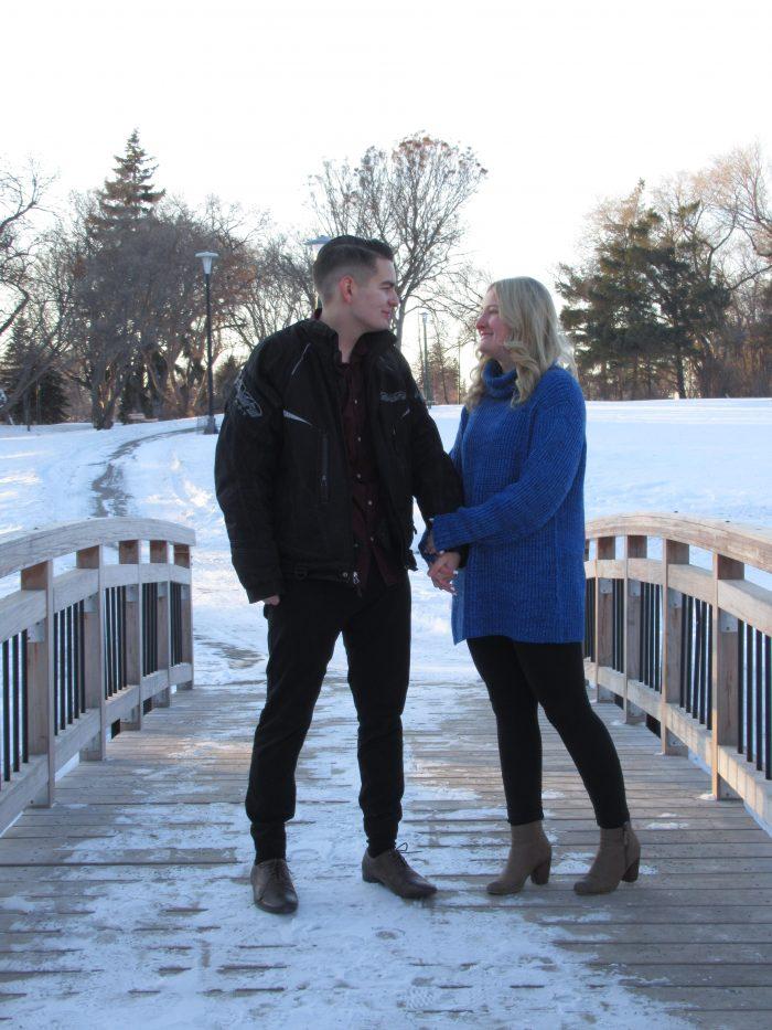 Michelle's Proposal in Winnipeg, Manitoba