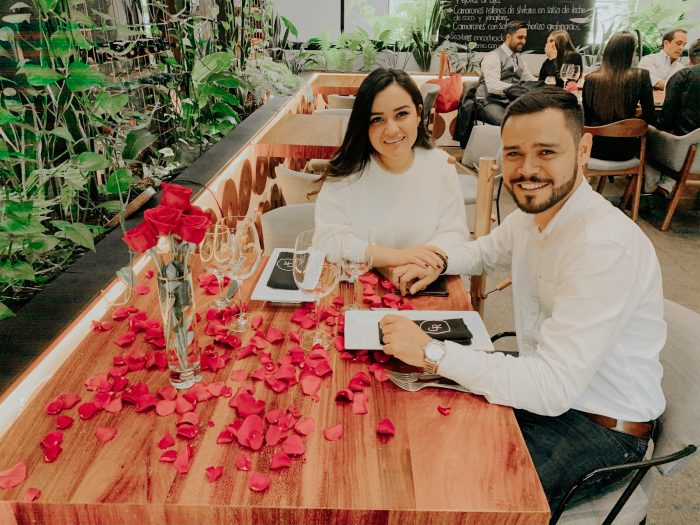 Engagement Proposal Ideas in L'Osteria Restaurant