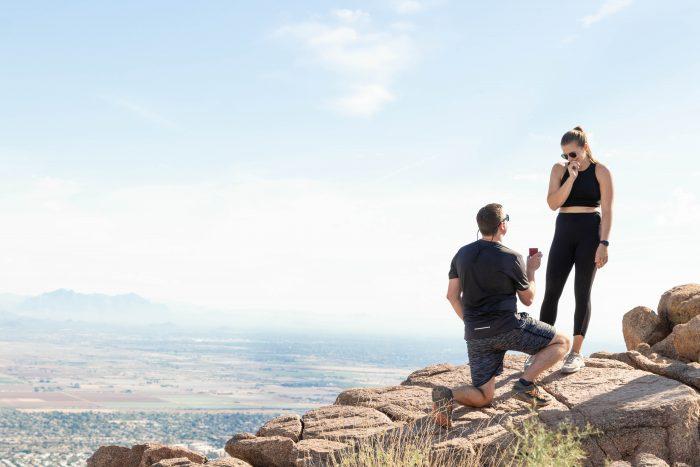 Wedding Proposal Ideas in Camelback Mountain, Phoenix AZ