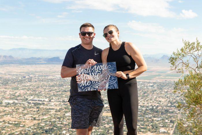 Where to Propose in Camelback Mountain, Phoenix AZ