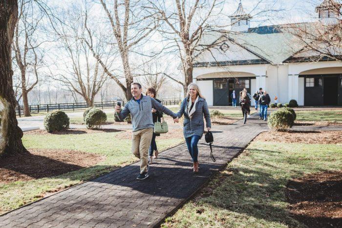 Engagement Proposal Ideas in Spendthrift Farm in Lexington, Kentucky