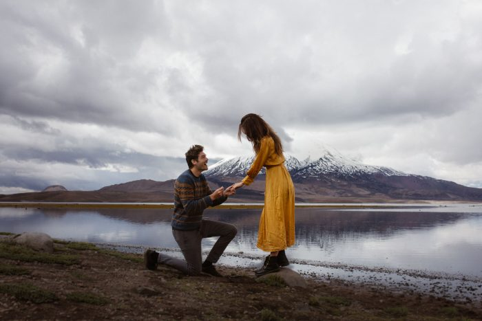 Marriage Proposal Ideas in in a national park in Chile, South America