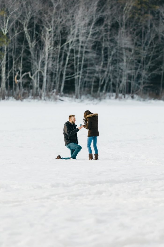 Where to Propose in Echo Lake State Park, New Hampshire