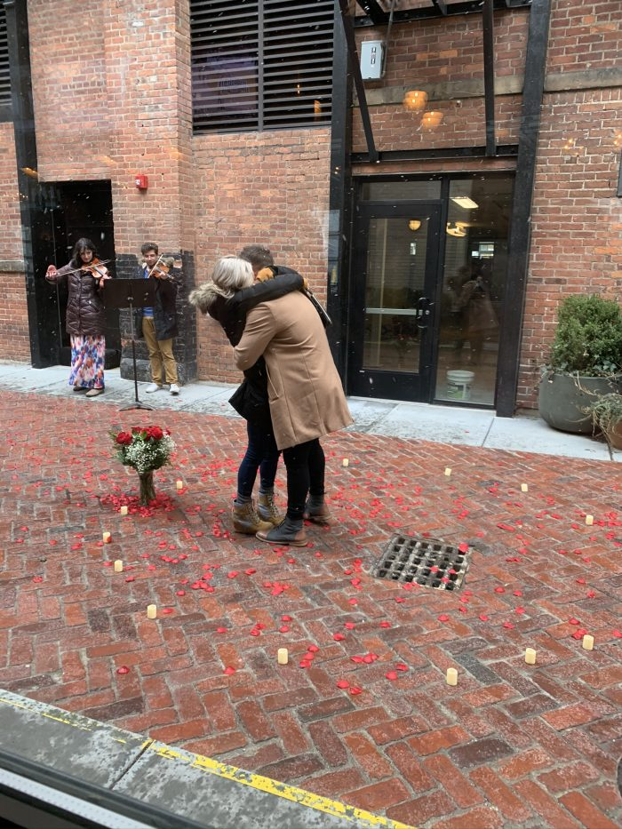 Audrey and Cameron's Engagement in Detroit Michigan