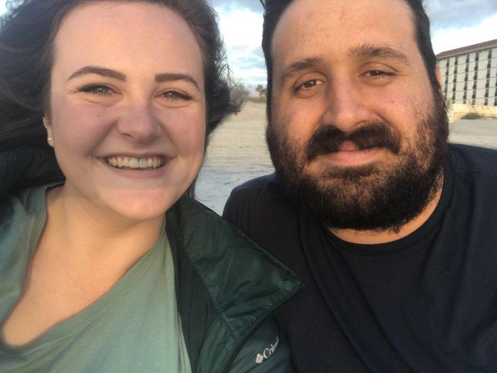 Elizabeth and Hayden's Engagement in Memorial Park in Jacksonville, FL