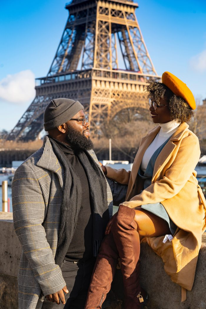 Taina's Proposal in Paris, France